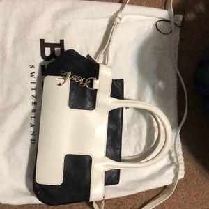 shoulder bag mini clutch bally addison